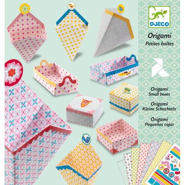 Оригами Djeco 08774 Маленькие коробочки