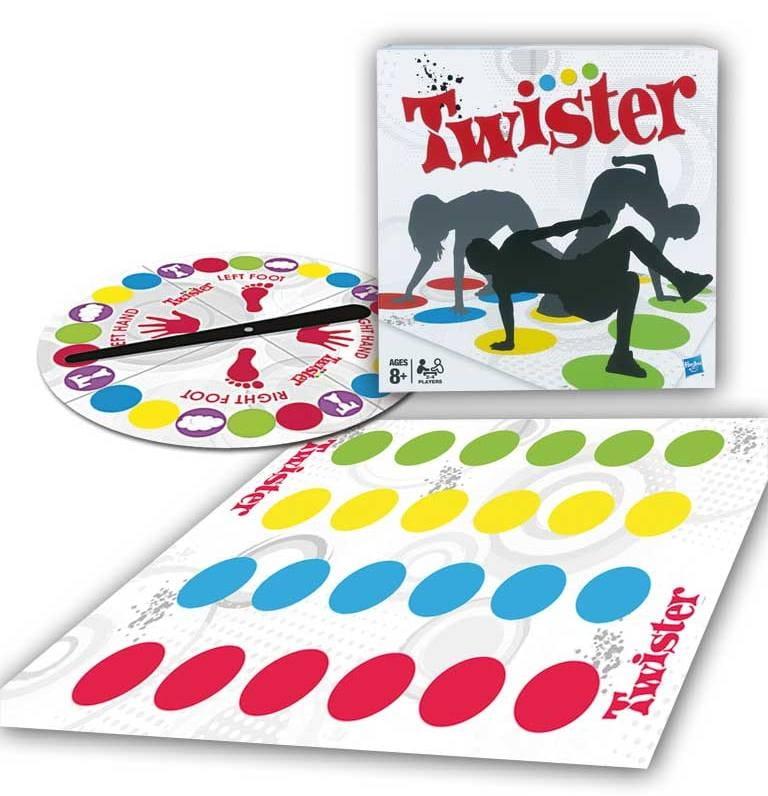 Настольная игра Hasbro Twister 2 (Твистер 2)