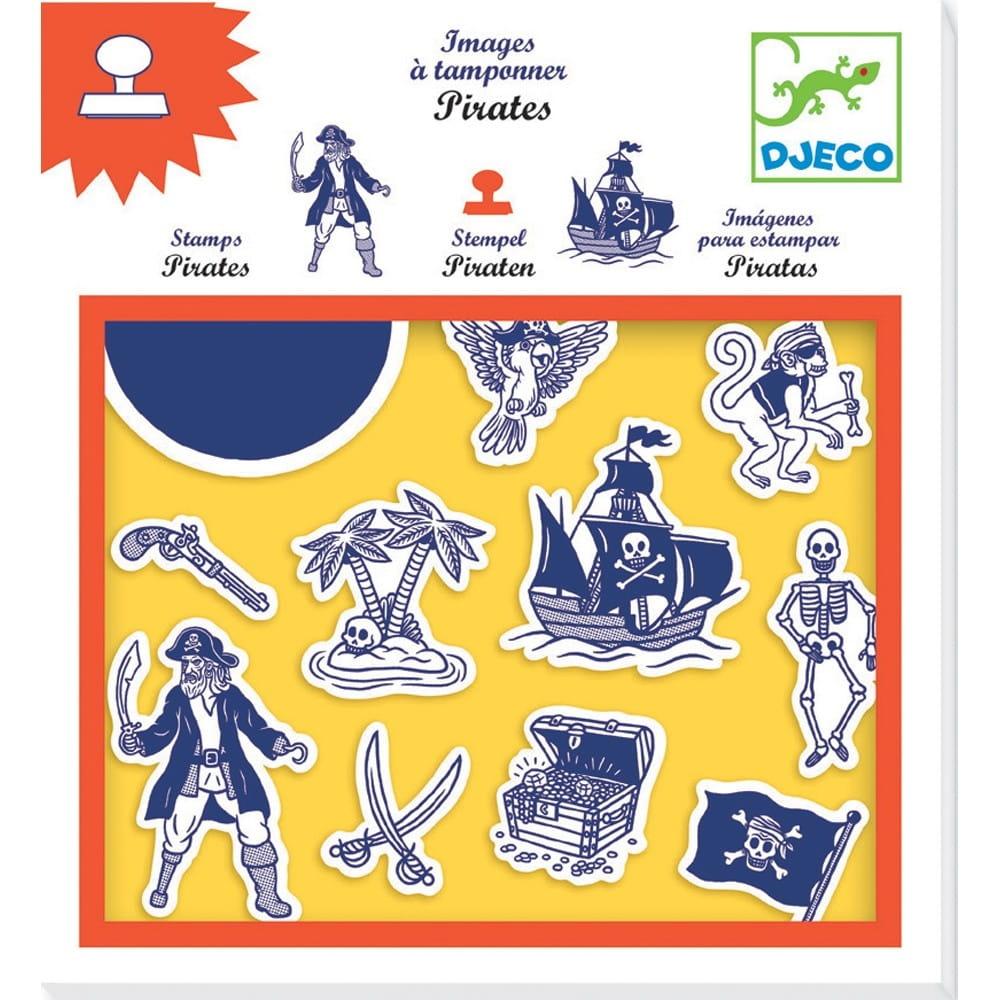 Набор штампов DJECO Пираты