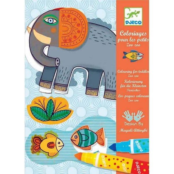 Игровой набор для творчества Djeco 08990 Зоопарк