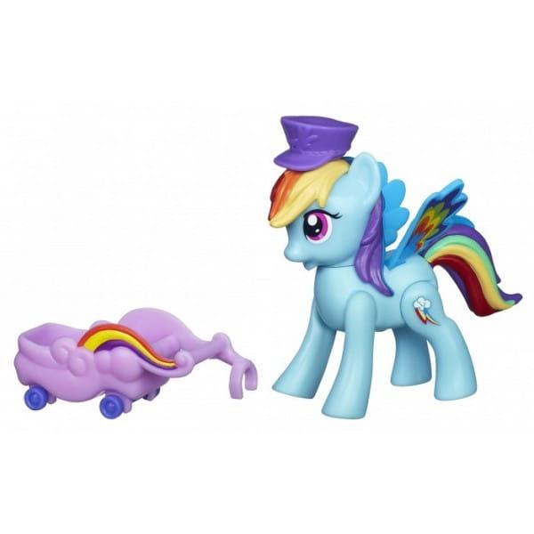 Игровой набор My Little Pony Летающие пони - Rainbow Dash Рейнбоу Дэш (Hasbro)