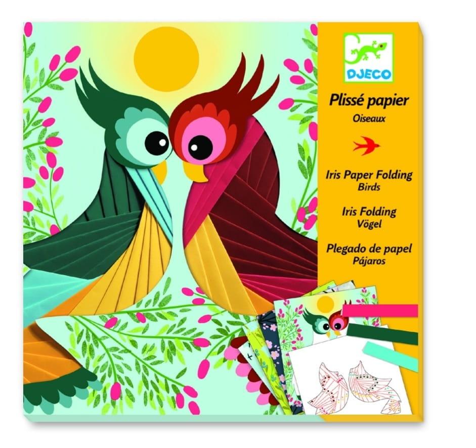 Набор для творчества Djeco 09443 Бумажный декор - Птички