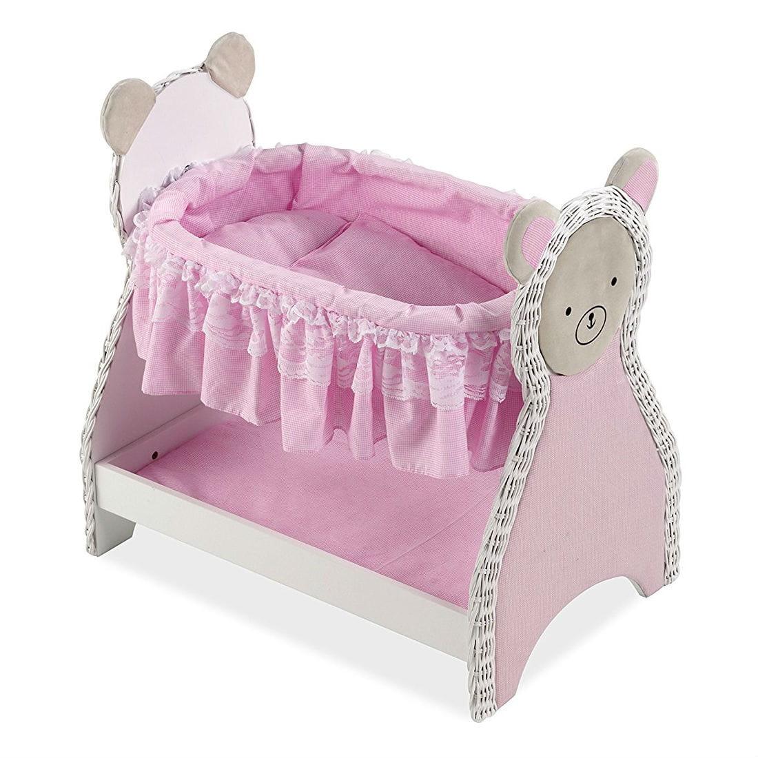 Кроватка для кукол Arias Т59796 деревянная - 52 см