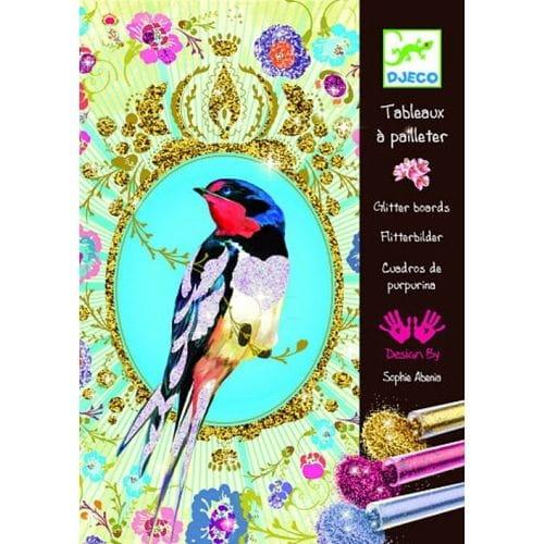 Набор для творчества Djeco Блестящие птицы