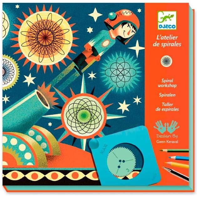 Набор для творчества Djeco 09542 Спирали Космос