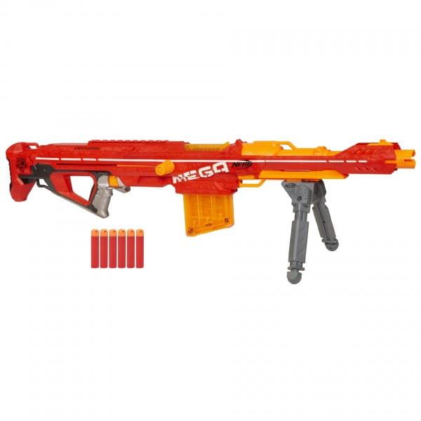 Купить Бластер Nerf Мега Центурион (Hasbro) в интернет магазине игрушек и детских товаров
