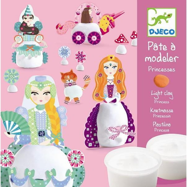 Набор для творчества с пластилином Djeco 09733 Принцессы