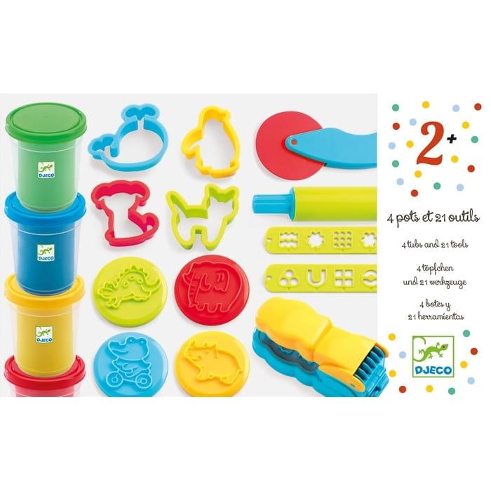 Игровой набор с пластилином DJECO