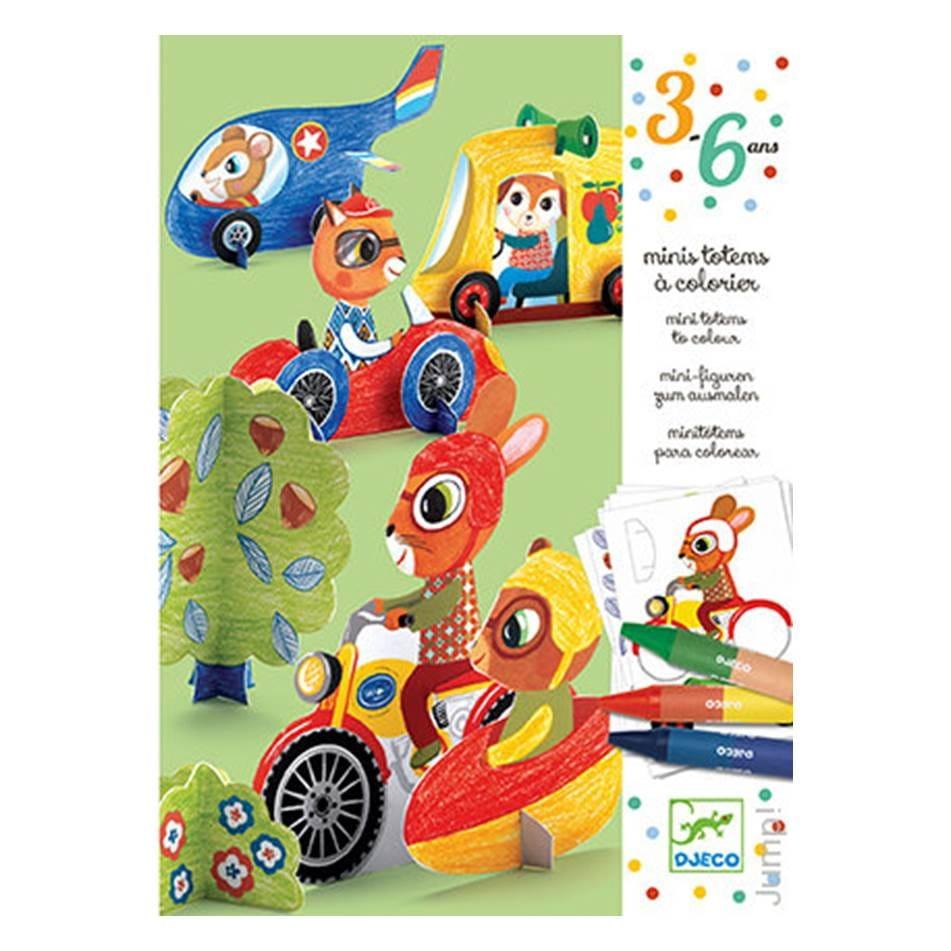 Игровой набор-раскраска Djeco 09862 Би-Би