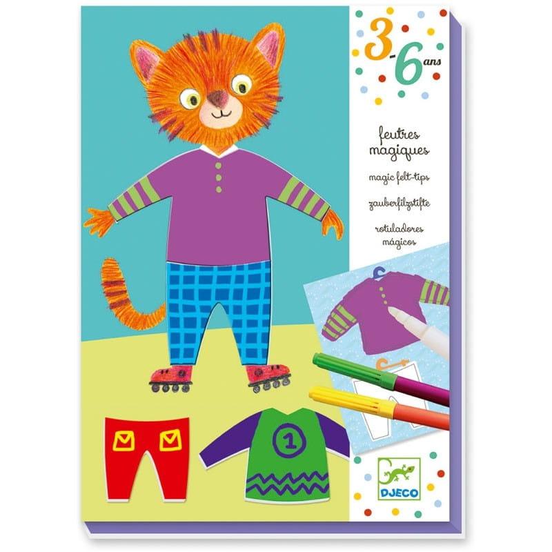 Игровой набор для творчества Djeco 09882 Одень животных