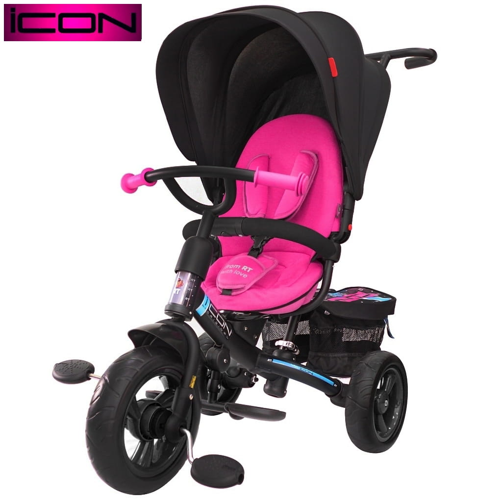Трехколесный велосипед Icon 6351 Evoque New Stroller by Natali Prigaro Eva - Glamour Opal