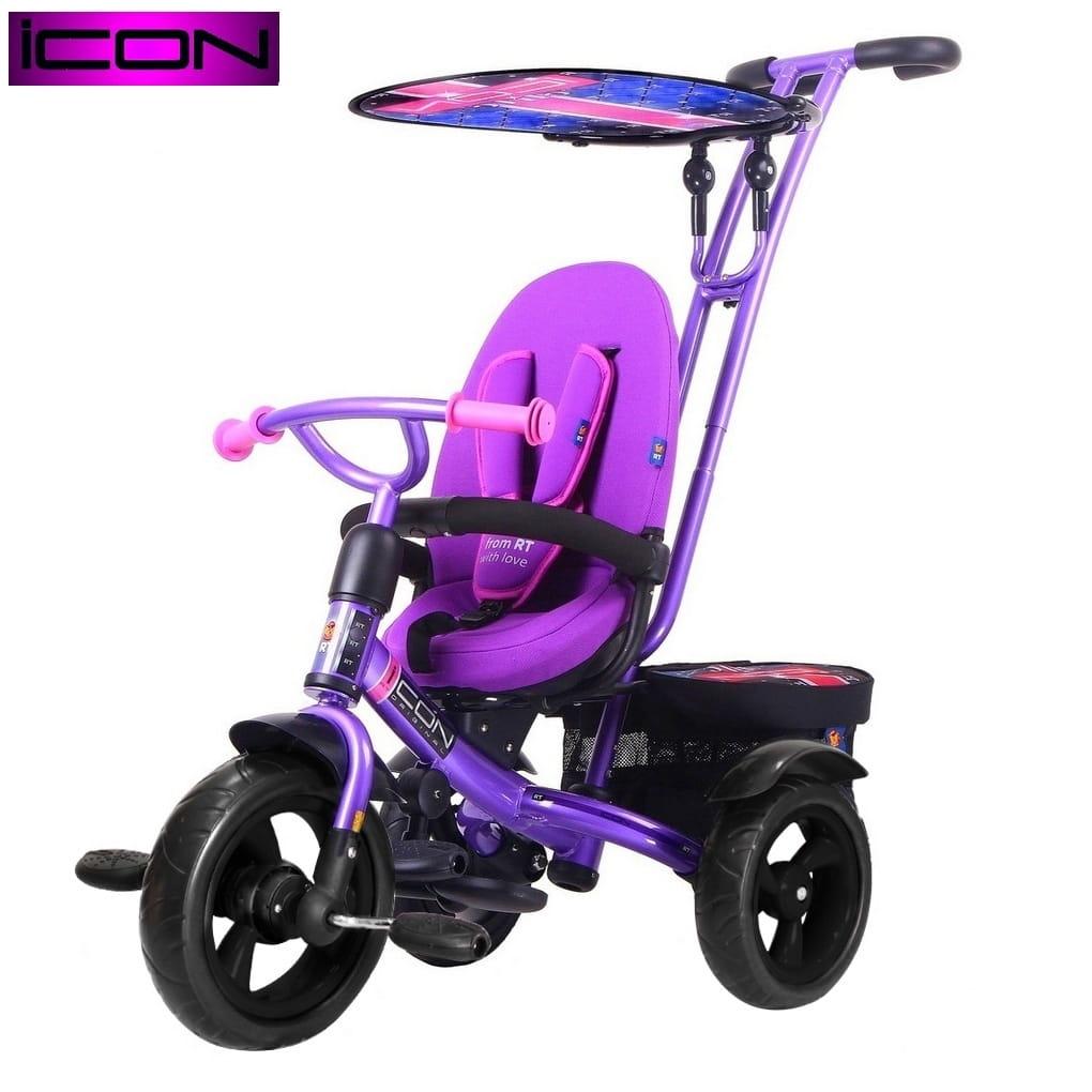 Трехколесный велосипед Icon 5496 Evoque by Natali Prigaro Eva - Crystal