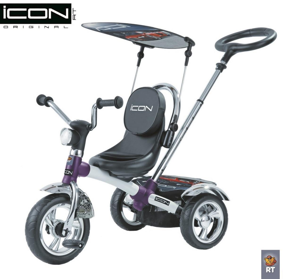 Трехколесный велосипед Icon 3677 4 White pearl car