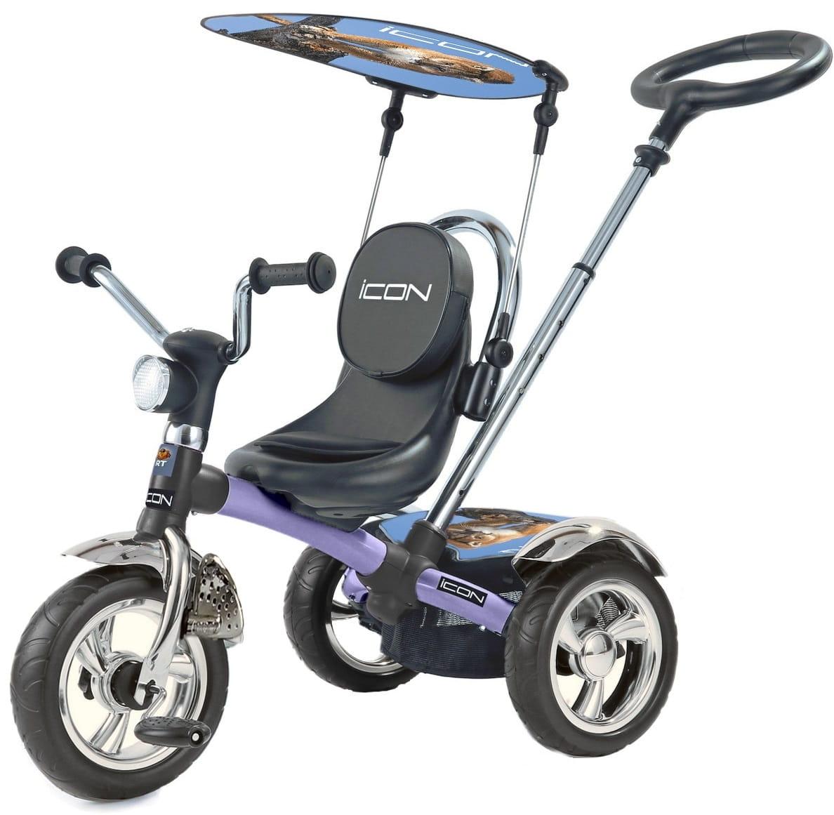 Трехколесный велосипед Icon 4 Silver blue puma