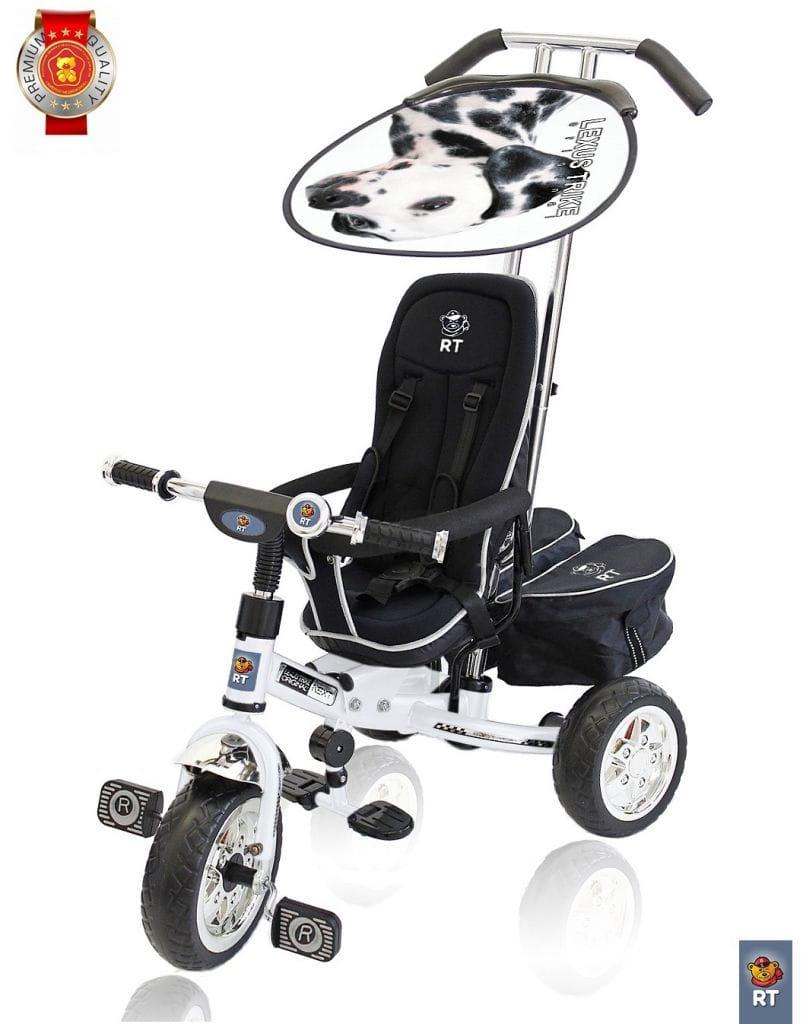 Трехколесный велосипед Lexus Trike Next Deluxe - белый