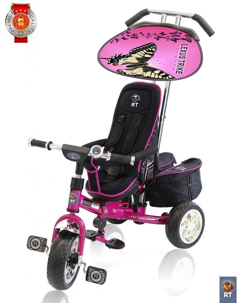 Трехколесный велосипед Lexus Trike Next Deluxe - розовый
