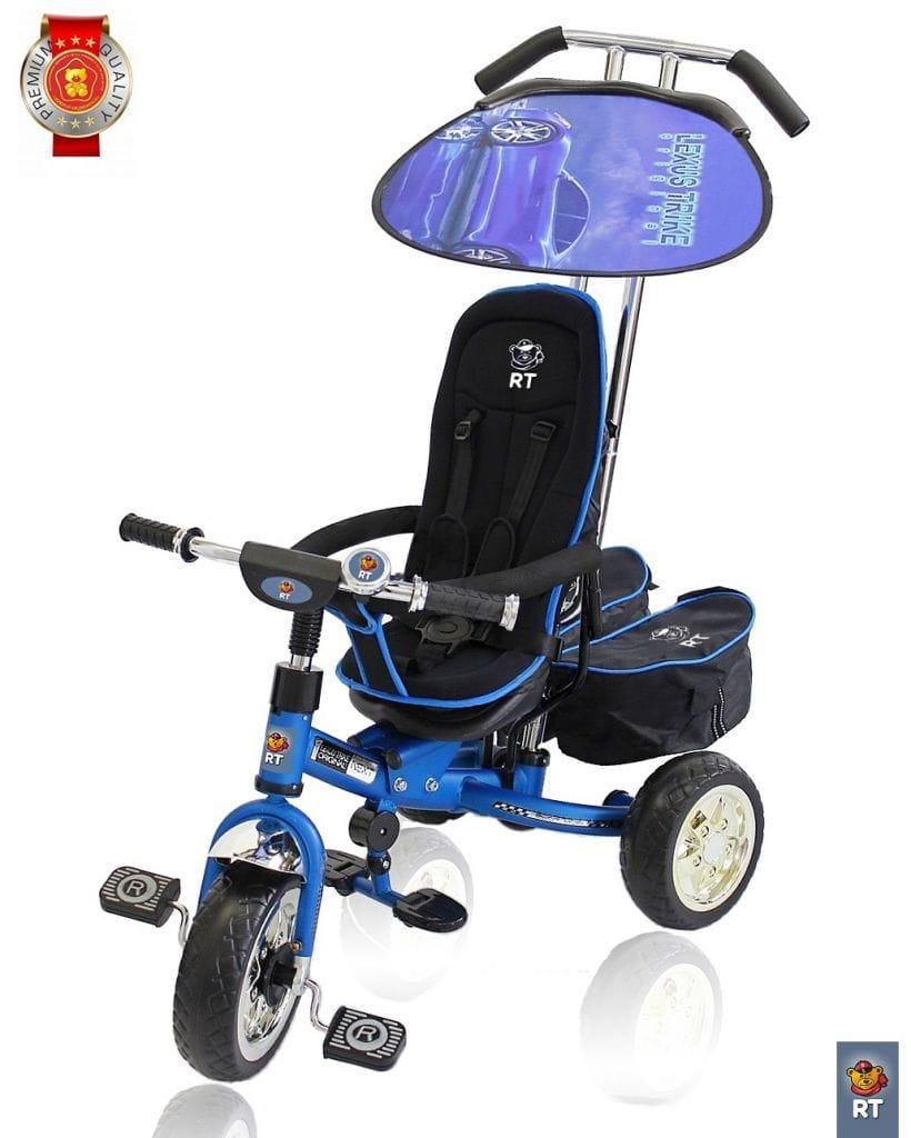 Трехколесный велосипед Lexus Trike Next Deluxe - синий