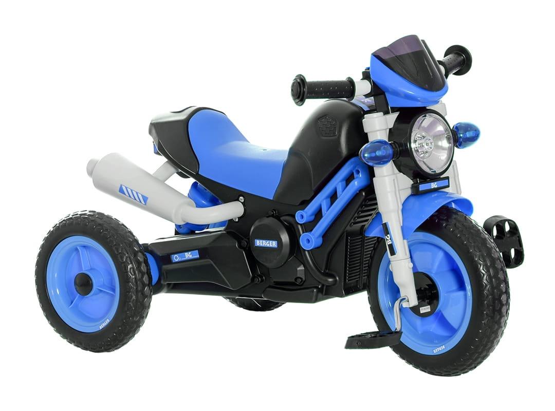 Трехколесный велосипед Berger 6458 XG - cиний