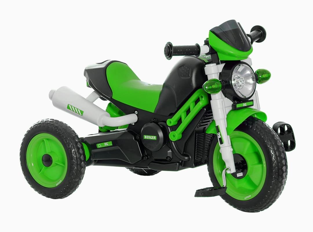 Трехколесный велосипед Berger 6460 XG - зеленый