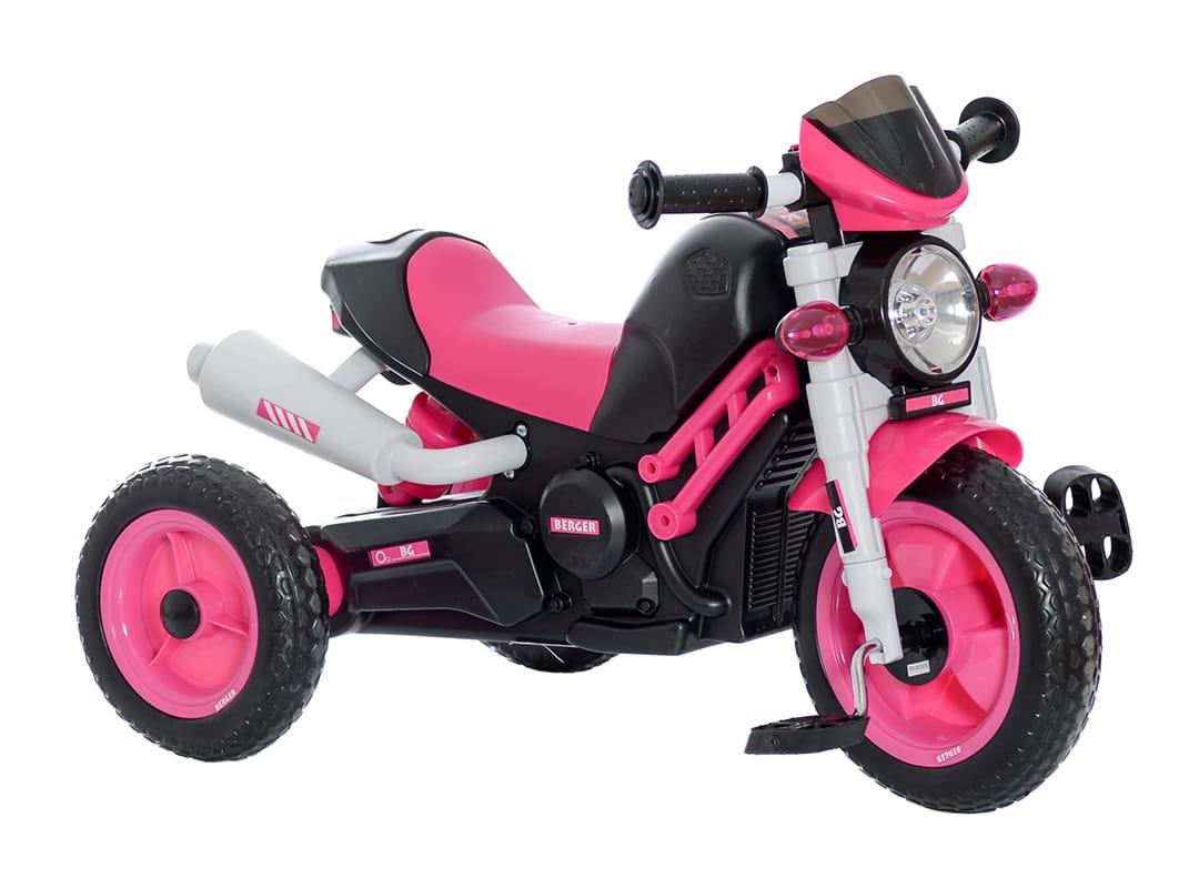 Трехколесный велосипед Berger 6459 XG - розовый