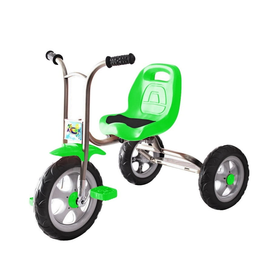 Трехколесный велосипед RT 5395 Galaxy Лучик - зеленый