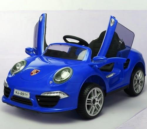 Электромобиль 1toy Т58723 Porshe - синий