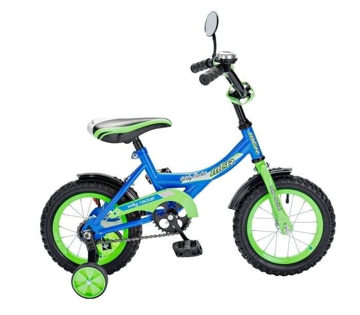 Детский велосипед RT 5550 Wily Rocket - 12 дюймов (синий)