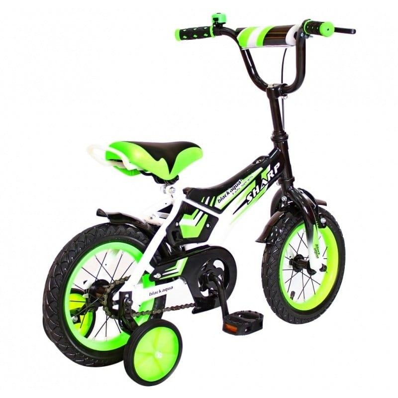 Детский велосипед RT 5431 Sharp - 12 дюймов (зеленый)