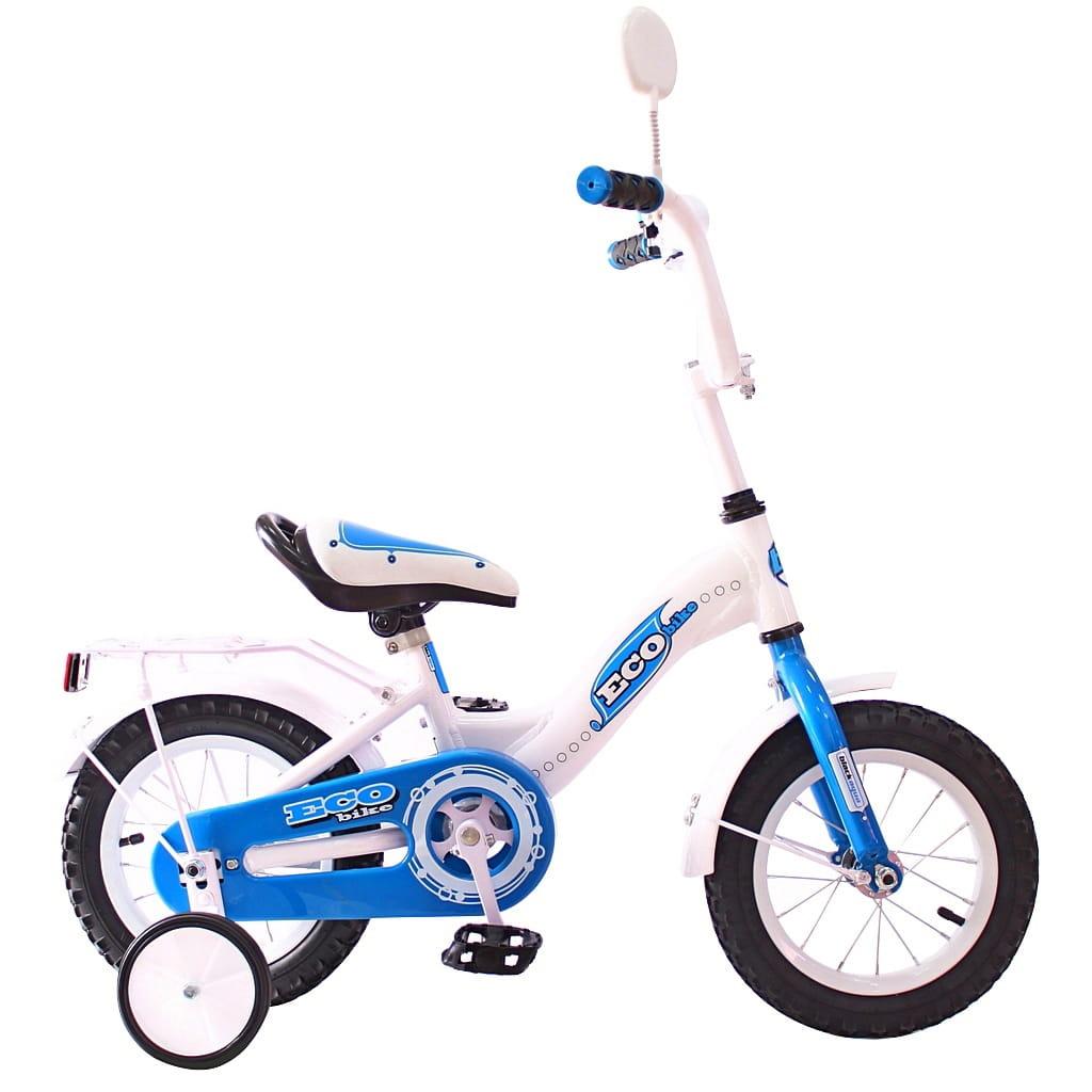Детский велосипед RT Ecobike - 12 дюймов (голубой)