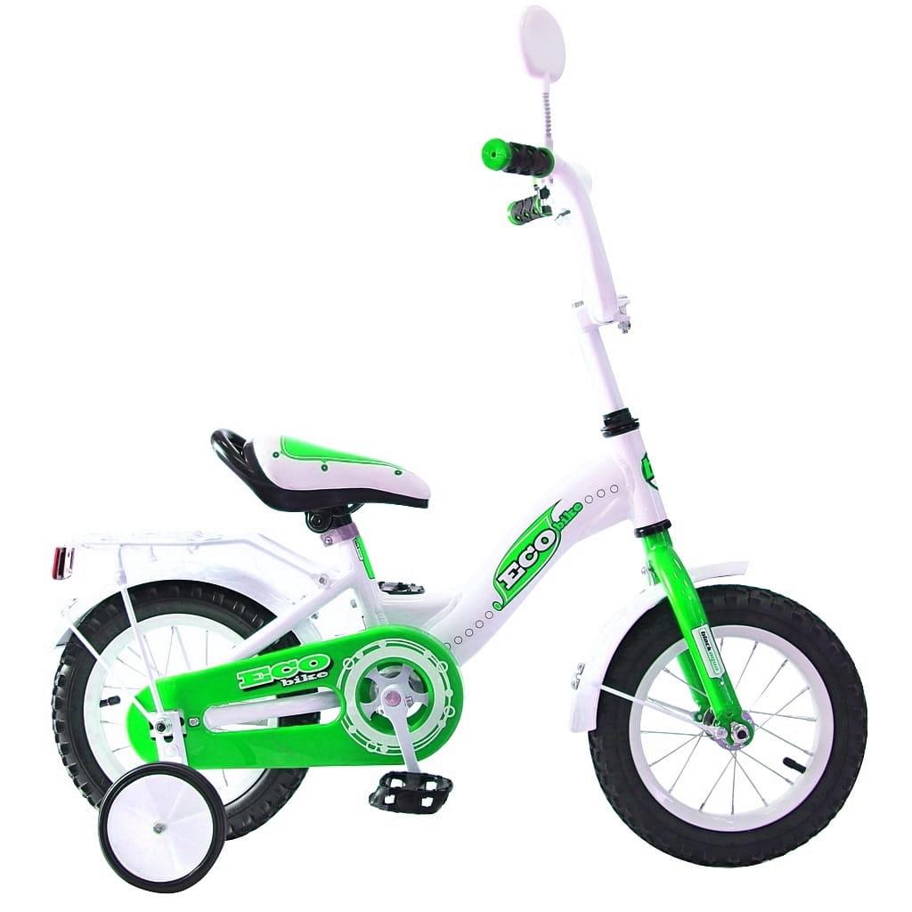 Детский велосипед RT Ecobike - 12 дюймов (зеленый)
