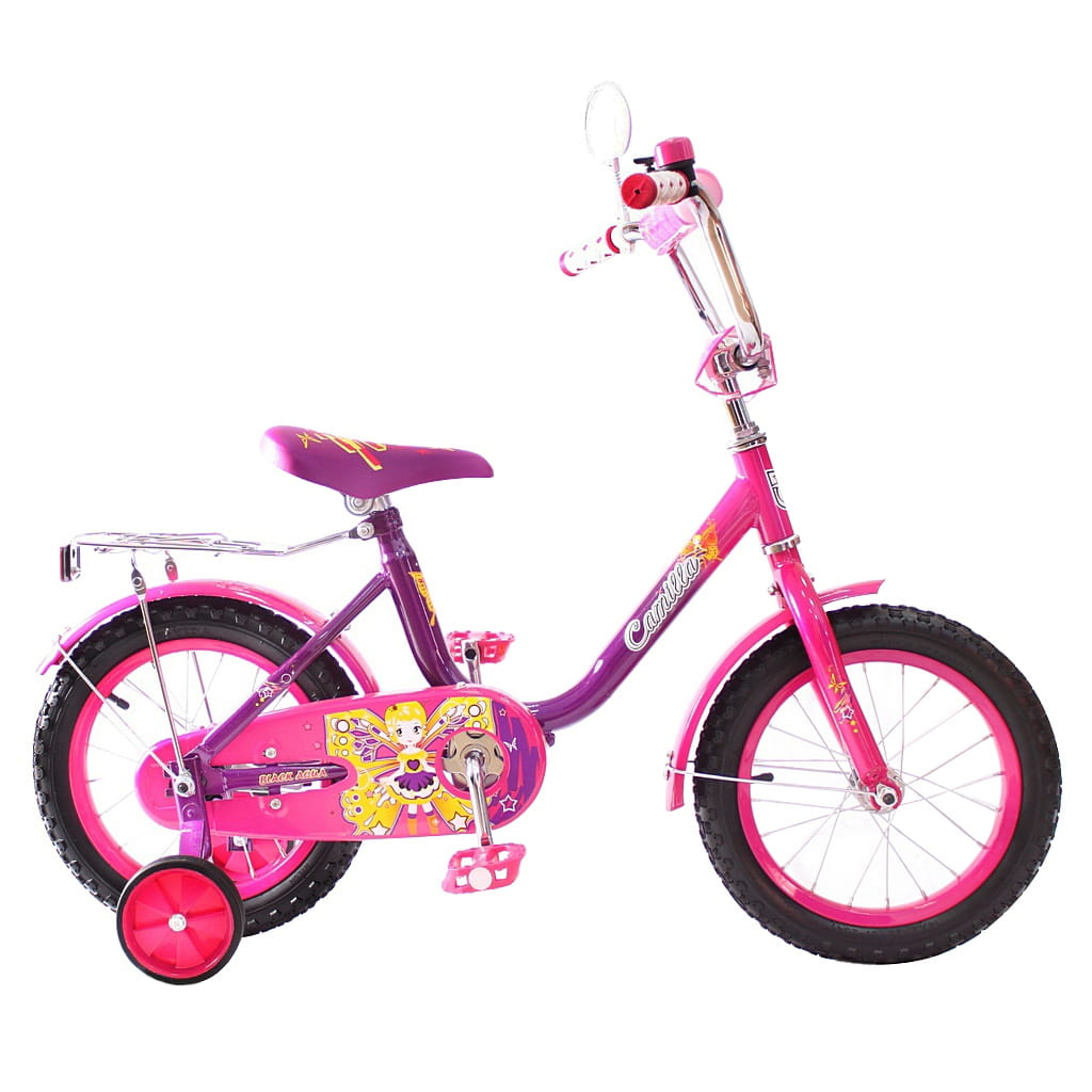 Детский велосипед RT 5407 Camilla - 14 дюймов (фиолетовый)