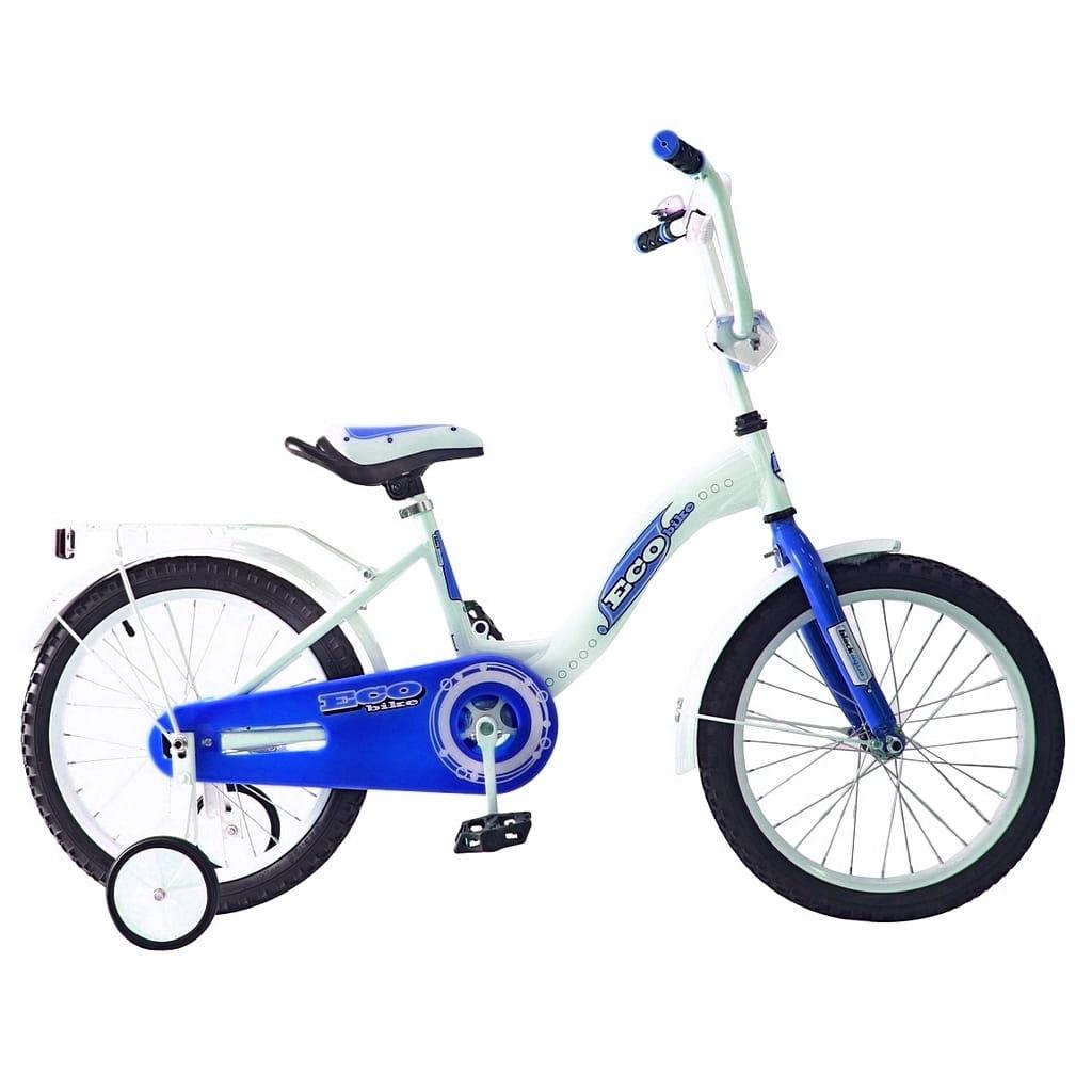 Детский велосипед RT 5415 Ecobike - 16 дюймов (голубой)