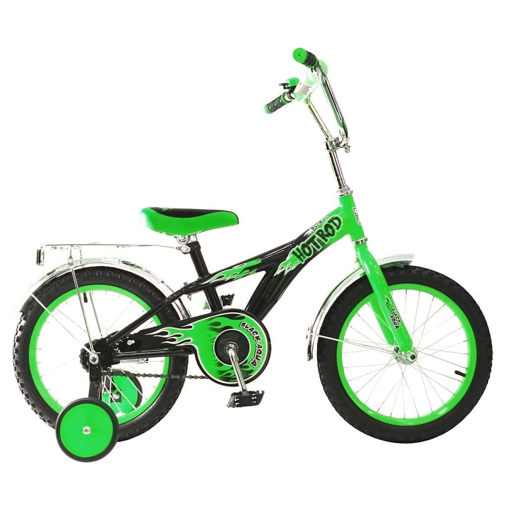 Детский велосипед RT 5424 Hot-Rod - 16 дюймов (зеленый)