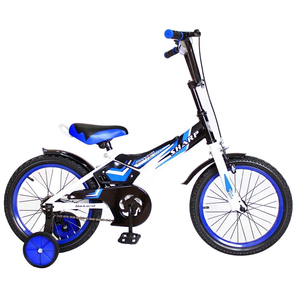 Детский велосипед RT 5436 Sharp - 16 дюймов (синий)