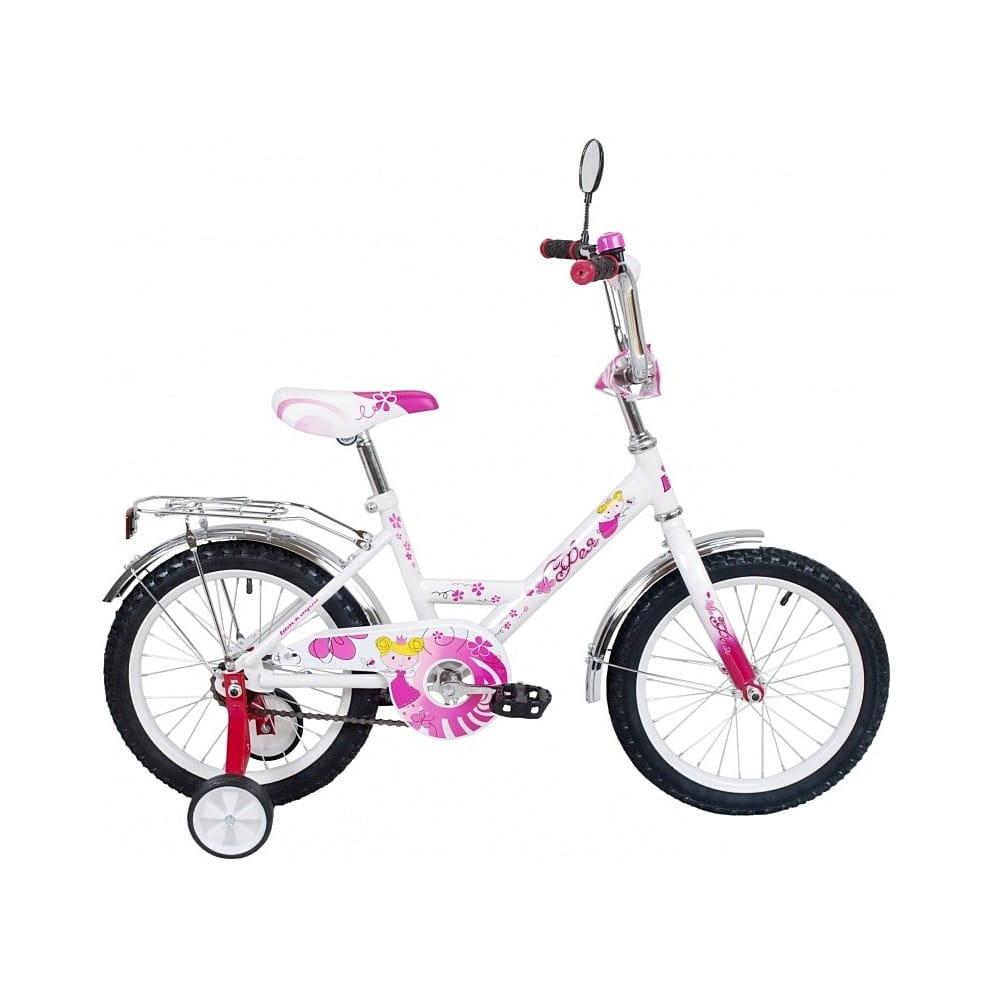 Детский велосипед RT 5557 Black Agua Фея - 12 дюймов (розовый)