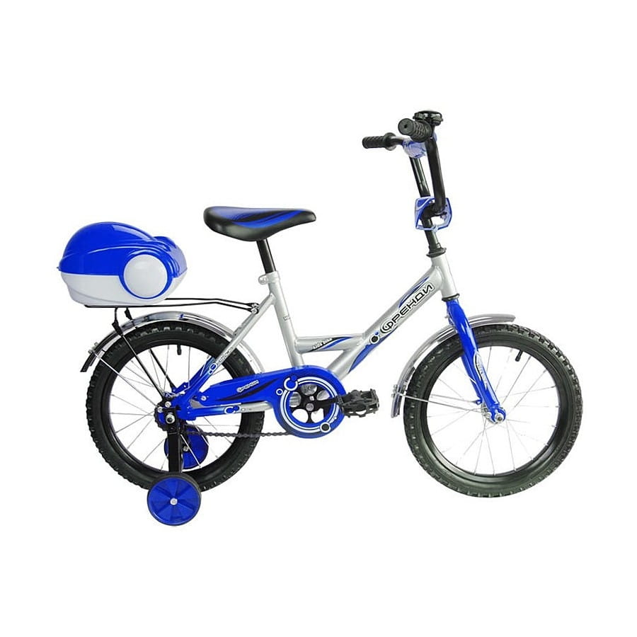 Детский велосипед RT Мультяшка Френди - 16 дюймов (синий)