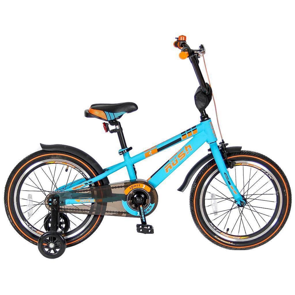 Детский велосипед Velolider Rush Sport - 18 дюймов (бирюзовый)