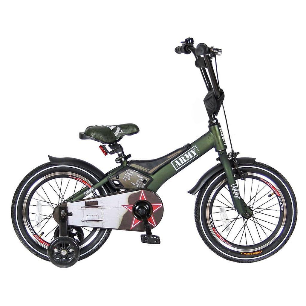 Детский велосипед VELOLIDER Rush Army - 16 дюймов (хаки)