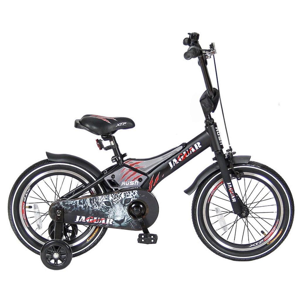 Детский велосипед Velolider 5531 Rush Jaguar - 16 дюймов (черный)