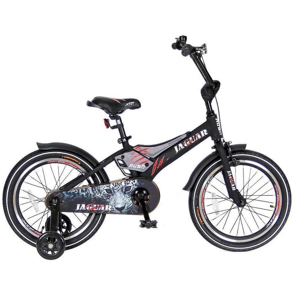 Детский велосипед VELOLIDER Rush Jaguar  18 дюймов (черный) - Велосипеды