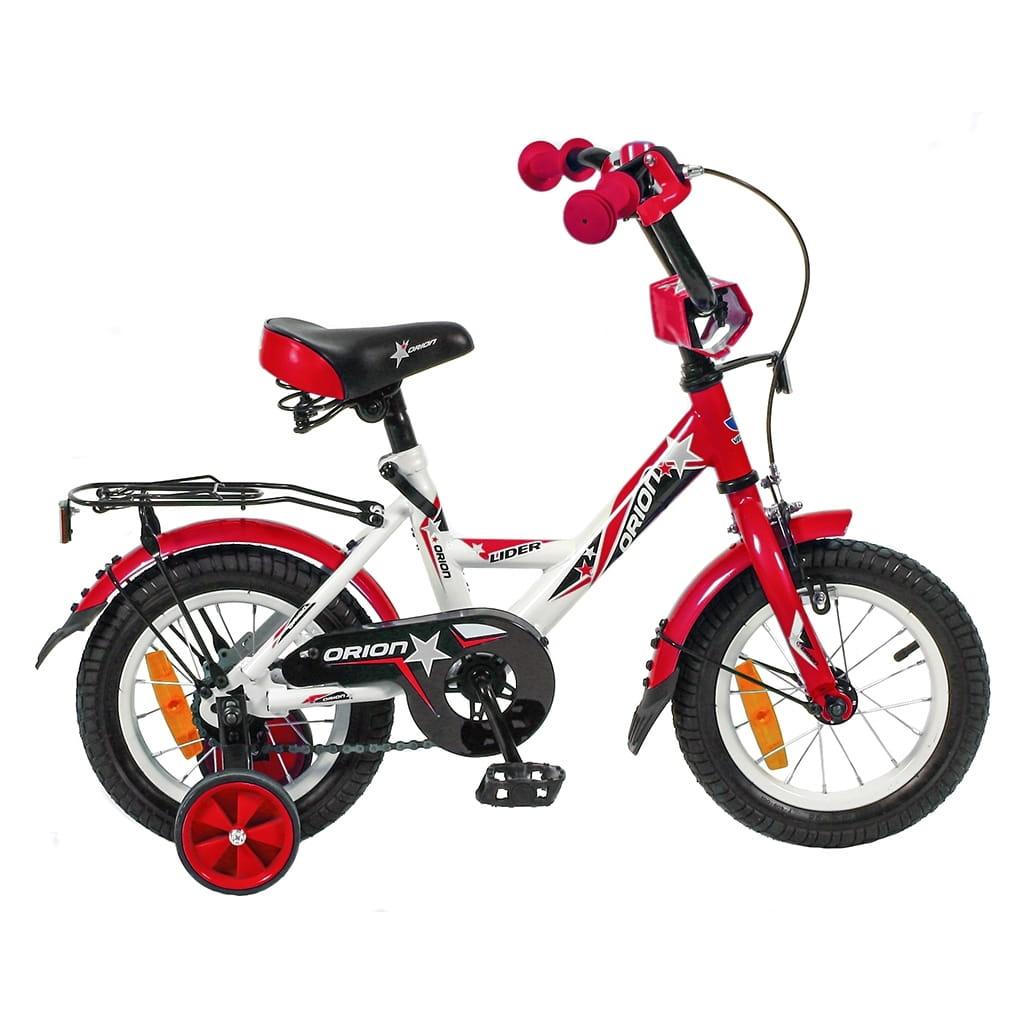 Детский велосипед Velolider 5504 Orion - 12 дюймов (бело-красный)