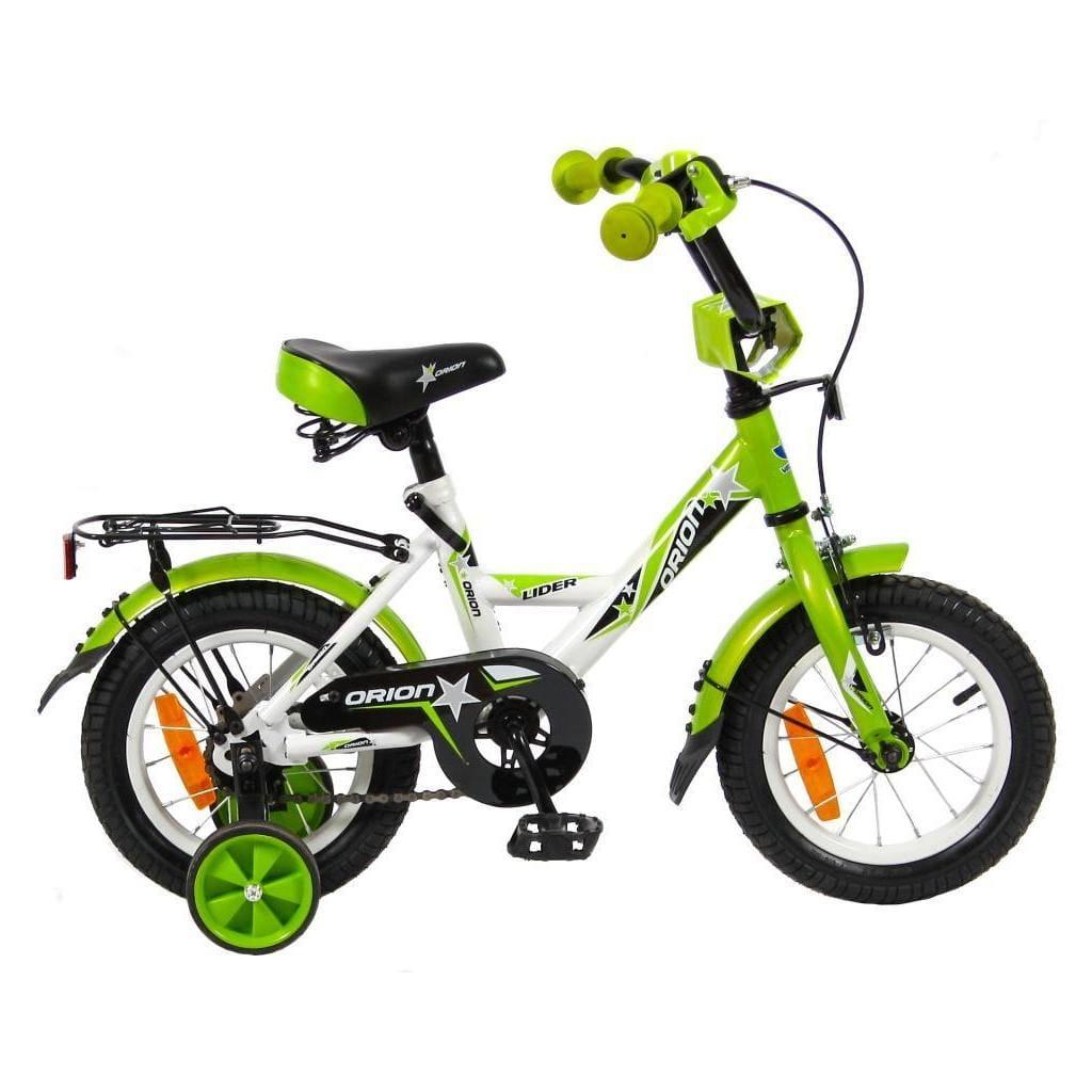 Детский велосипед VELOLIDER Orion - 12 дюймов (бело-зеленый)