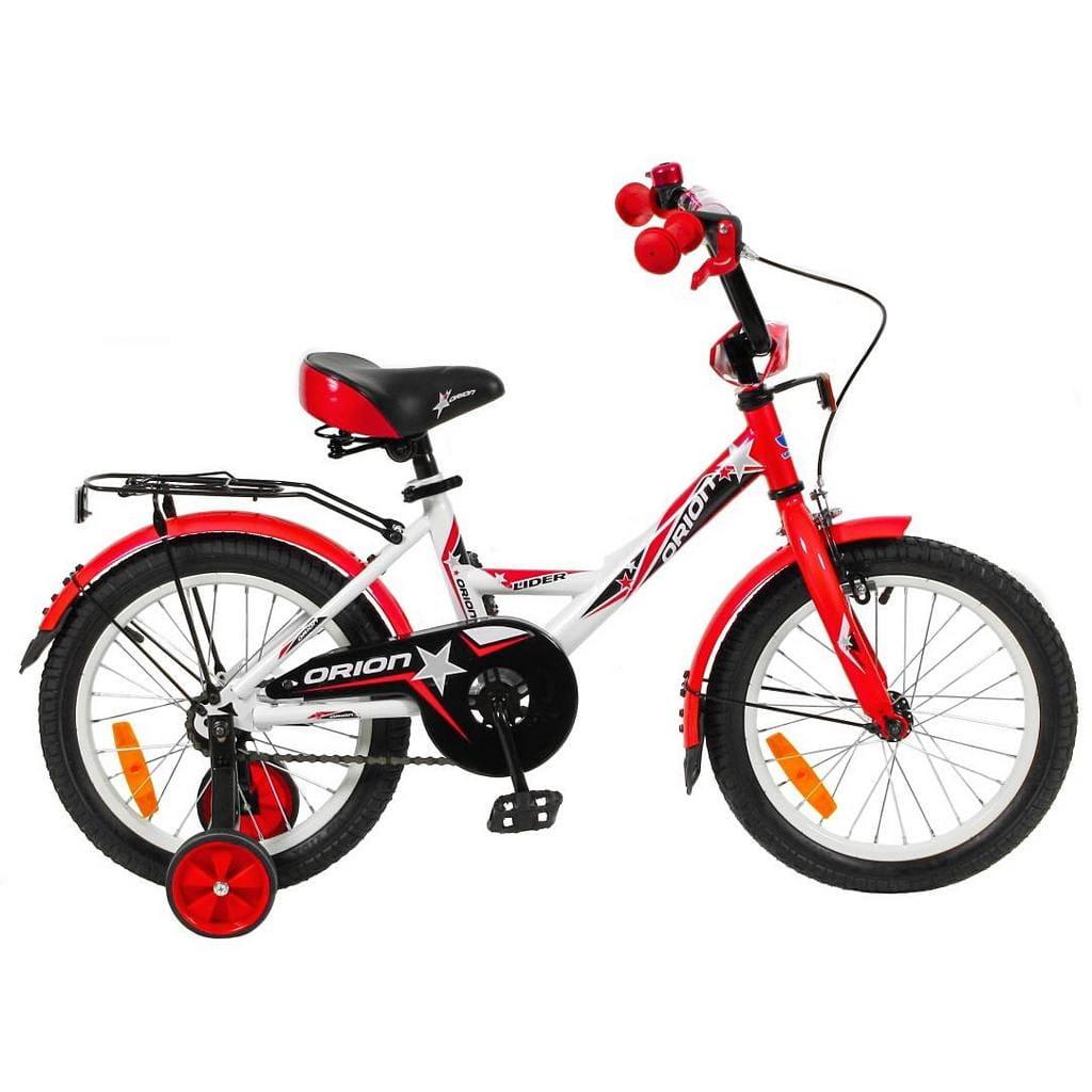 Детский велосипед Velolider 5521 Orion - 16 дюймов (бело-красный)