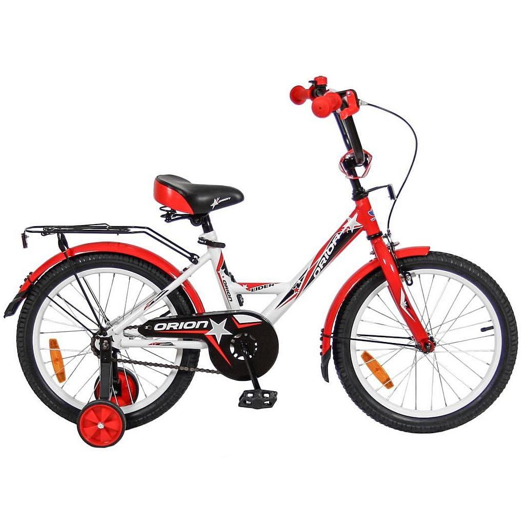 Детский велосипед Velolider Orion - 18 дюймов (бело-красный)