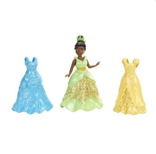 Подарочный набор в сумочке с мини-куклой Disney Princess - Тиана и 2 наряда (Mattel)