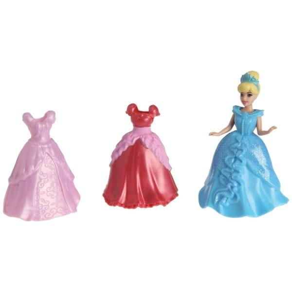Подарочный набор в сумочке с мини-куклой Disney Princess - Золушка и 2 наряда (Mattel)