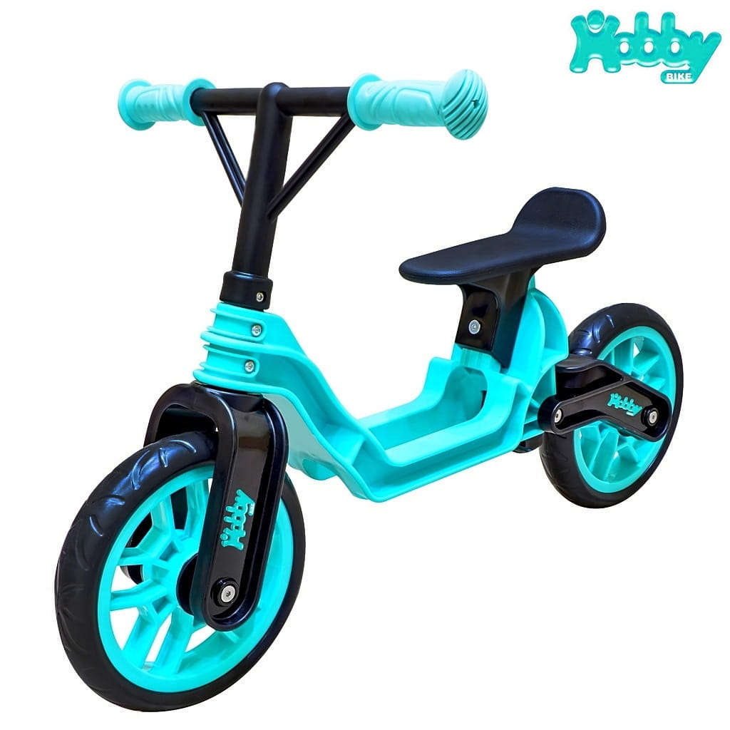 Беговел RT 6639 Hobby bike Magestic - aqua-black
