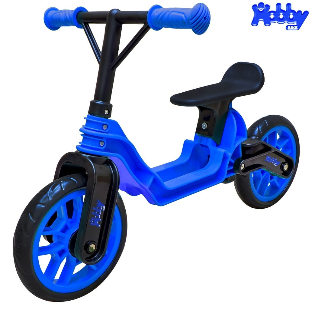 Беговел RT 6637 Hobby bike Magestic - blue-black