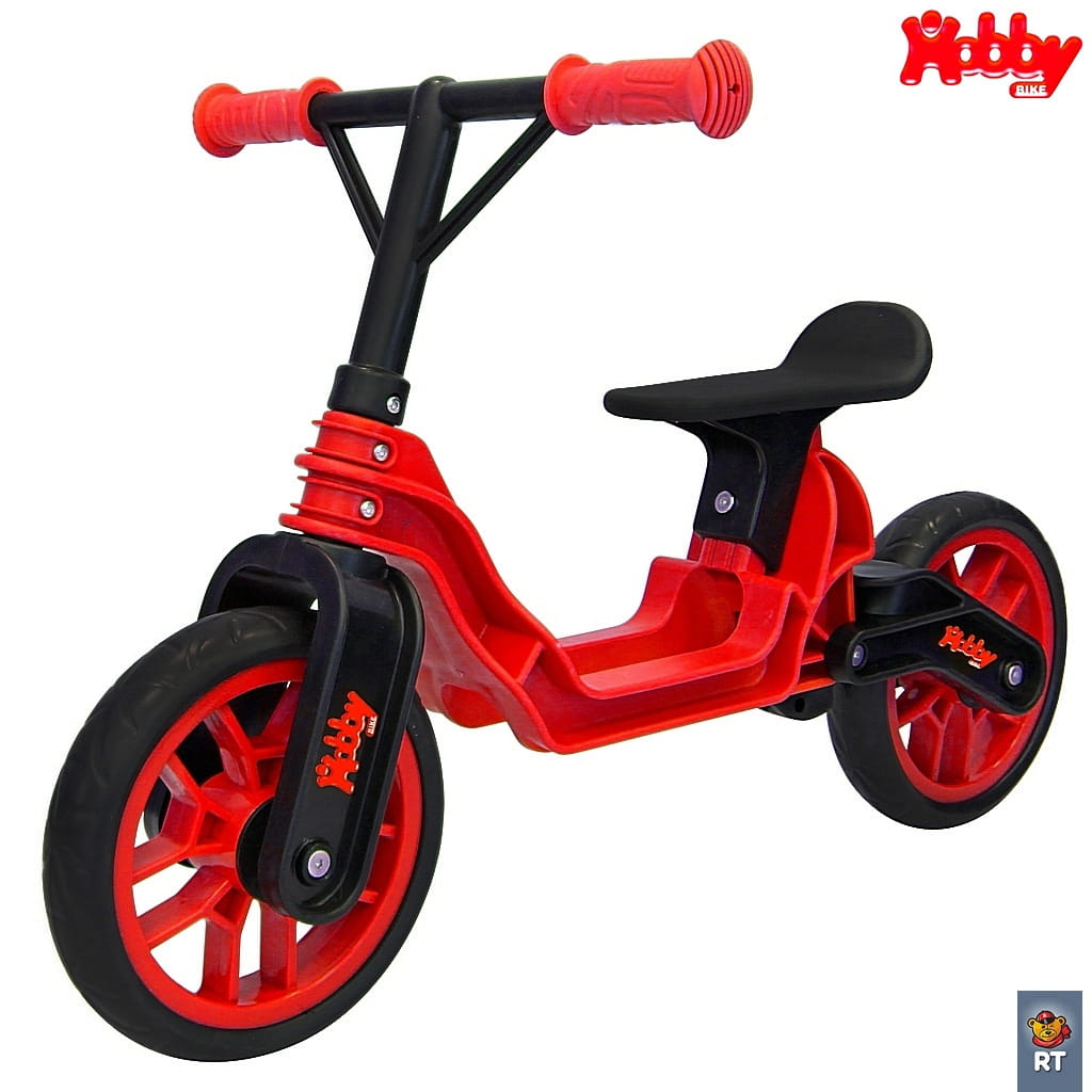 Беговел RT 6635 Hobby bike Magestic - red-black