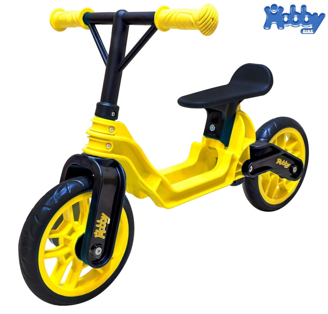 Беговел RT 6636 Hobby bike Magestic - yellow-black